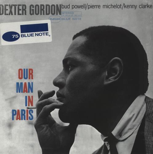 Dexter Gordon Our Man In Paris - Blue Note 75th Anniversary vinyl LP album (LP record) US DD9LPOU759128