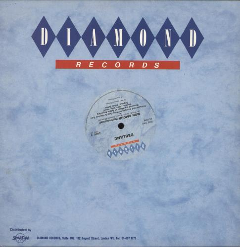 "De Blanc Mon Amour 12"" vinyl single (12 inch record / Maxi-single) UK 6DB12MO698529"
