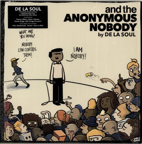 De La Soul And The Anonymous Nobody - Smoky Clear Vinyl 2-LP vinyl record set (Double Album) US DLS2LAN704843