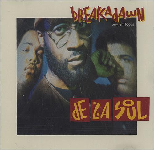 """De La Soul Breakadawn CD single (CD5 / 5"""") Canadian DLSC5BR436540"""