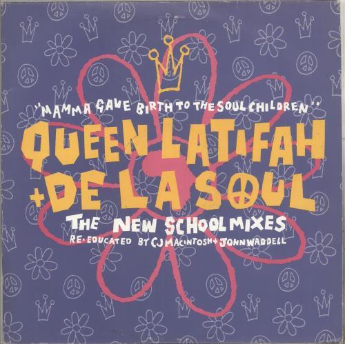 """De La Soul Mamma Gave Birth To The Soul Children 12"""" vinyl single (12 inch record / Maxi-single) UK DLS12MA448046"""