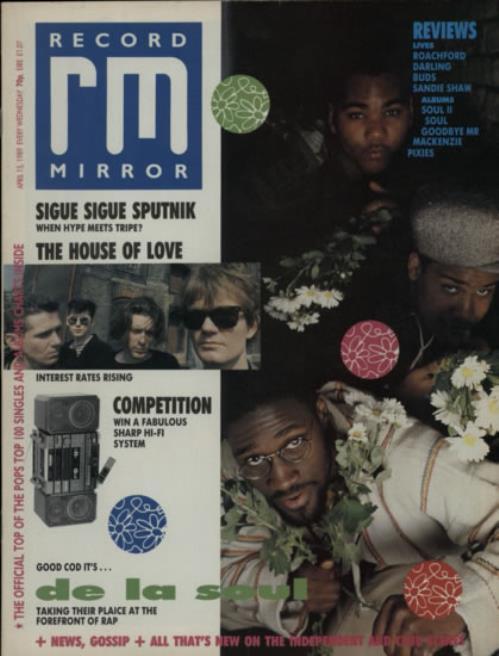 De La Soul Record Mirror magazine UK DLSMARE607908