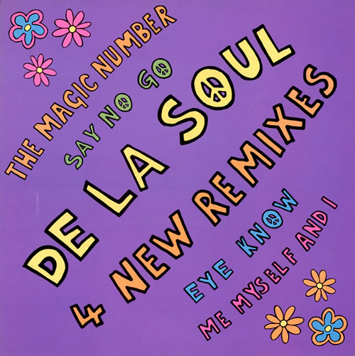 "De La Soul The Magic Number - 4 New Remixes 12"" vinyl single (12 inch record / Maxi-single) UK DLS12TH124406"