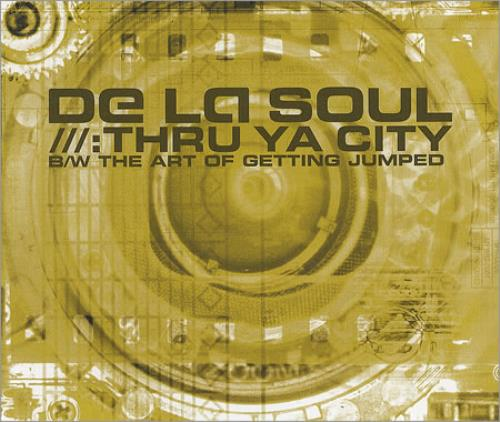 "De La Soul Thru Ya City CD single (CD5 / 5"") UK DLSC5TH191072"