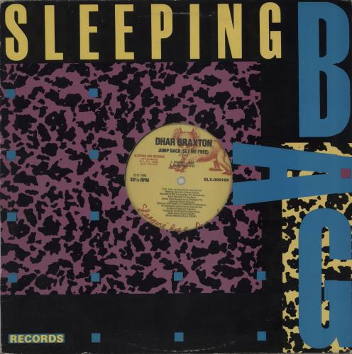 "Dhar Braxton Jump Back (Set Me Free) 12"" vinyl single (12 inch record / Maxi-single) US I6B12JU671660"