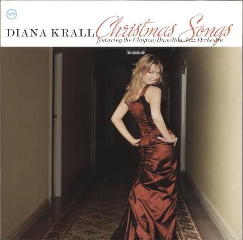 Diana Krall Christmas Songs vinyl LP album (LP record) UK DKRLPCH737412