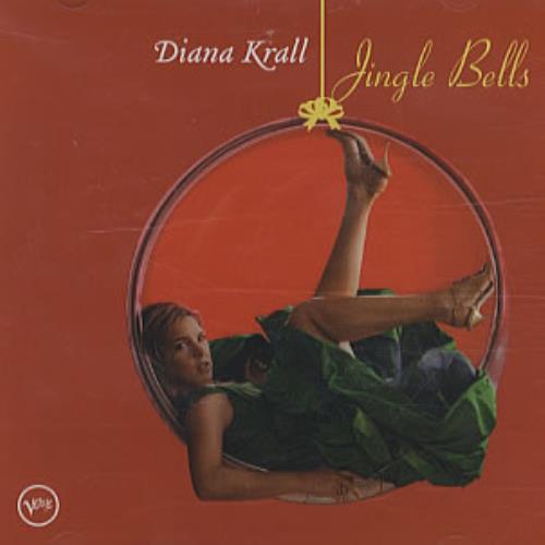 "Diana Krall Jingle Bells CD single (CD5 / 5"") US DKRC5JI343455"