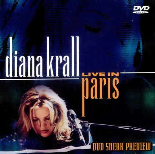Diana Krall Live In Paris DVD US DKRDDLI511370