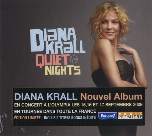 Diana Krall Quiet Nights CD album (CDLP) French DKRCDQU470388