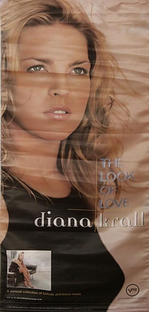 Diana Krall The Look Of Love display US DKRDITH494423
