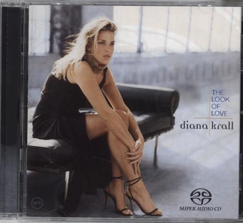 Diana Krall The Look Of Love super audio CD SACD US DKRSATH727189