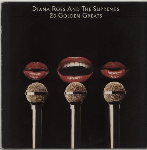 Diana Ross & The Supremes 20 Golden Greats vinyl LP album (LP record) UK D/SLPGO656003