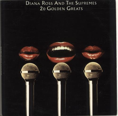 Diana Ross & The Supremes 20 Golden Greats vinyl LP album (LP record) Portugese D/SLPGO707671