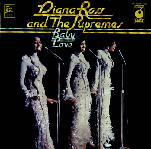Diana Ross & The Supremes Baby Love - EX vinyl LP album (LP record) UK D/SLPBA498043