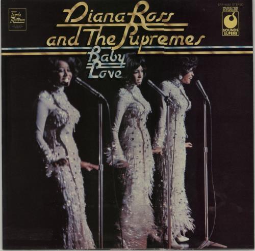 Diana Ross & The Supremes Baby Love vinyl LP album (LP record) UK D/SLPBA676523