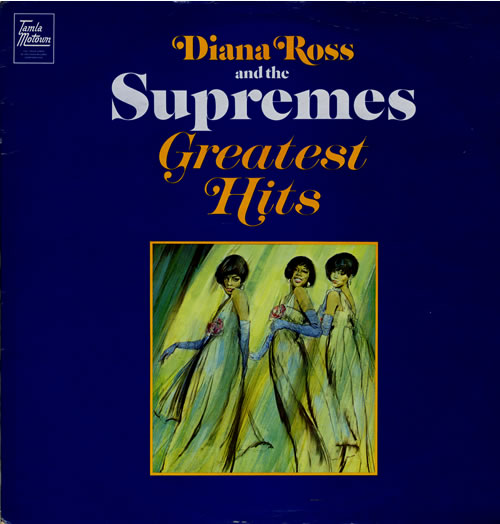 Diana Ross & The Supremes Greatest Hits - EX vinyl LP album (LP record) UK D/SLPGR111447