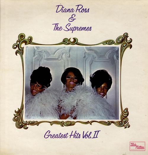 Diana Ross & The Supremes Greatest Hits Vol 2 - 2nd vinyl LP album (LP record) UK D/SLPGR45500