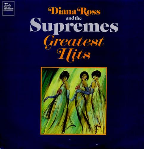 Diana Ross & The Supremes Greatest Hits vinyl LP album (LP record) UK D/SLPGR345993