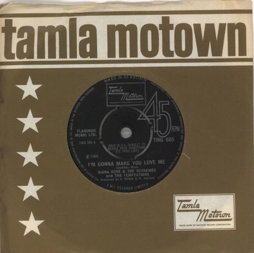 "Diana Ross & The Supremes I'm Gonna Make You Love Me - 4pr 7"" vinyl single (7 inch record) UK D/S07IM709808"