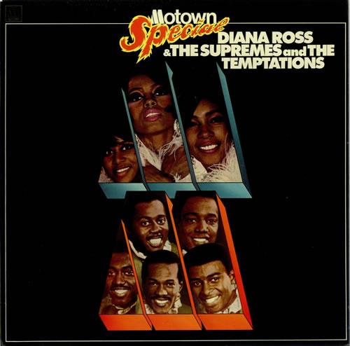 Diana Ross & The Supremes Motown Special vinyl LP album (LP record) UK D/SLPMO498058