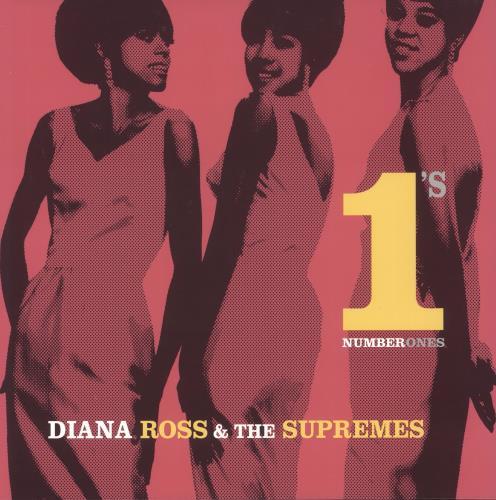 Diana Ross & The Supremes Number 1's - 180gm 2-LP vinyl record set (Double Album) UK D/S2LNU716602