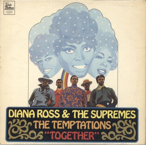 Diana Ross & The Supremes Together - EX vinyl LP album (LP record) UK D/SLPTO712519