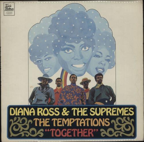 Diana Ross & The Supremes Together vinyl LP album (LP record) UK D/SLPTO345984