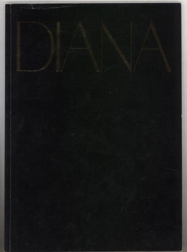 Diana Ross 1982 World Tour Plus Ticket Stub tour programme UK DIATRWO740285
