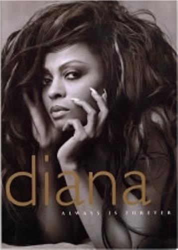 Diana Ross Always Is Forever tour programme UK DIATRAL75898