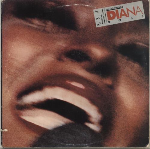 Diana Ross An Evening With Diana Ross 2-LP vinyl record set (Double Album) US DIA2LAN706389