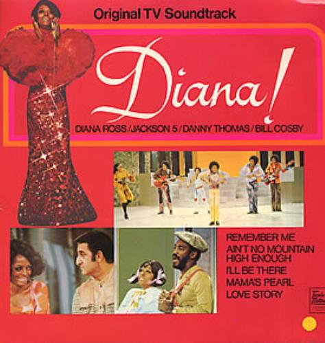 Diana Ross Diana! Original TV Soundtrack vinyl LP album (LP record) UK DIALPDI263409