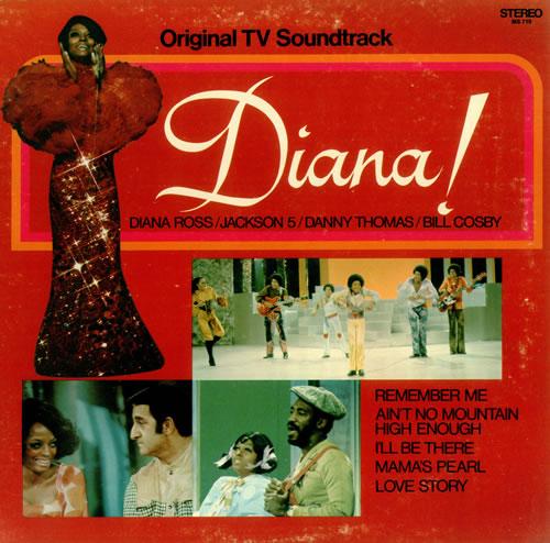 Diana Ross Diana! vinyl LP album (LP record) US DIALPDI442091