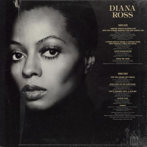Diana Ross Diana Ross vinyl LP album (LP record) US DIALPDI757974