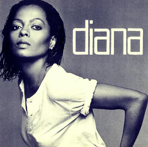Diana Ross Diana vinyl LP album (LP record) Canadian DIALPDI496428