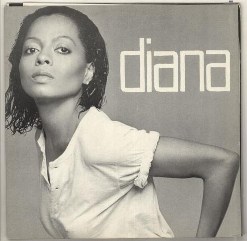 Diana Ross Diana vinyl LP album (LP record) Greek DIALPDI736891