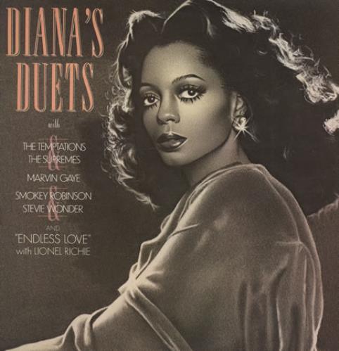 Diana Ross Dianas Duets Uk Vinyl Lp Album Lp Record 262433