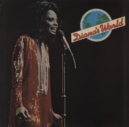Diana Ross Diana's World - VG vinyl LP album (LP record) UK DIALPDI758642