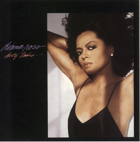 "Diana Ross Dirty Looks - Factory Sample 7"" vinyl single (7 inch record) UK DIA07DI739806"