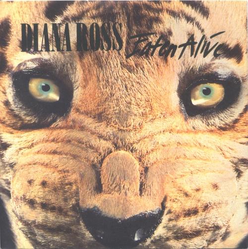 "Diana Ross Eaten Alive 7"" vinyl single (7 inch record) UK DIA07EA170046"