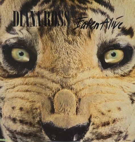 "Diana Ross Eaten Alive 12"" vinyl single (12 inch record / Maxi-single) US DIA12EA38436"