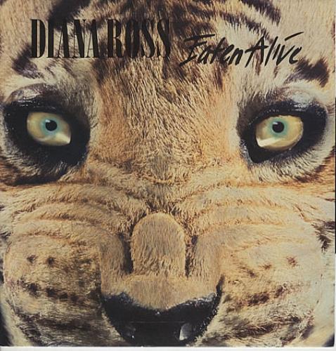 "Diana Ross Eaten Alive 12"" vinyl single (12 inch record / Maxi-single) UK DIA12EA56179"