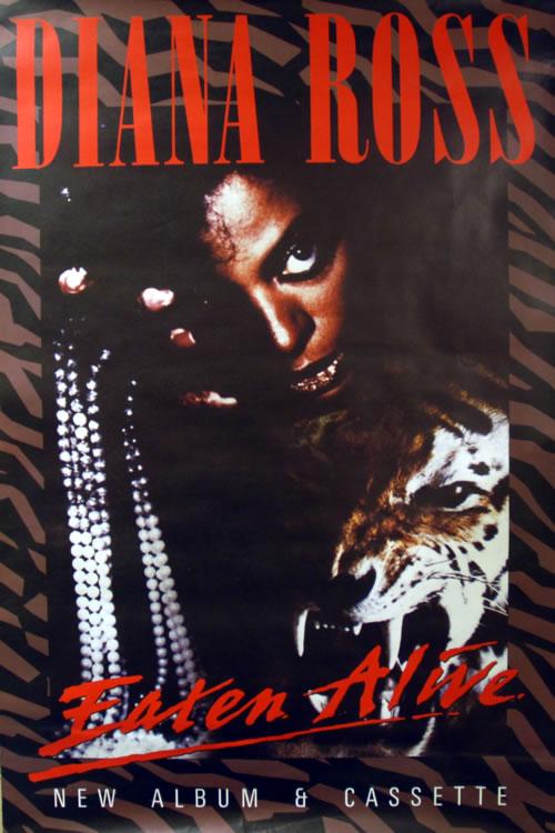Diana Ross Eaten Alive poster UK DIAPOEA624908