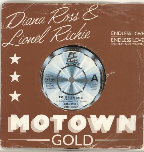 "Diana Ross Endless Love - Motown Gold 7"" vinyl single (7 inch record) UK DIA07EN699418"