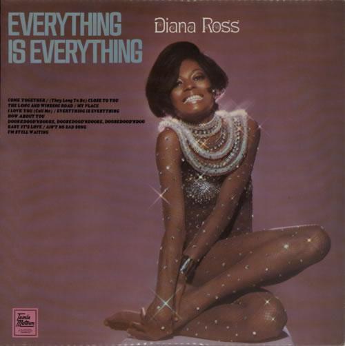 Diana Ross Everything Is Everything - 1st vinyl LP album (LP record) UK DIALPEV600009