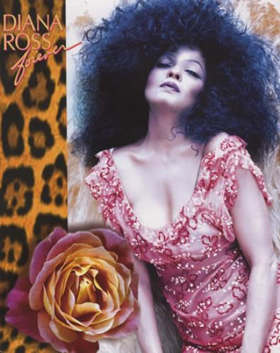 Diana Ross Forever Tour Programme tour programme UK DIATRFO374266