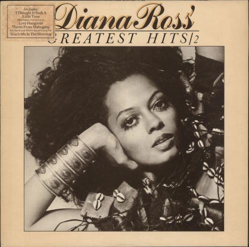 Diana Ross Greatest Hits 2 - Stickered vinyl LP album (LP record) UK DIALPGR740074