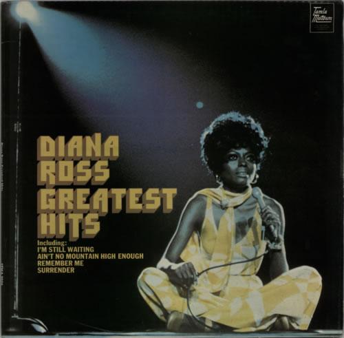 Diana Ross Greatest Hits vinyl LP album (LP record) UK DIALPGR45499