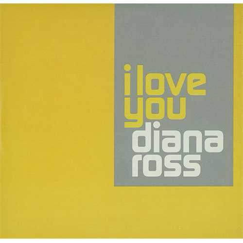"""Diana Ross I Love You Sampler CD single (CD5 / 5"""") UK DIAC5IL407800"""