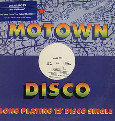 """Diana Ross It's My House 12"""" vinyl single (12 inch record / Maxi-single) US DIA12IT23688"""