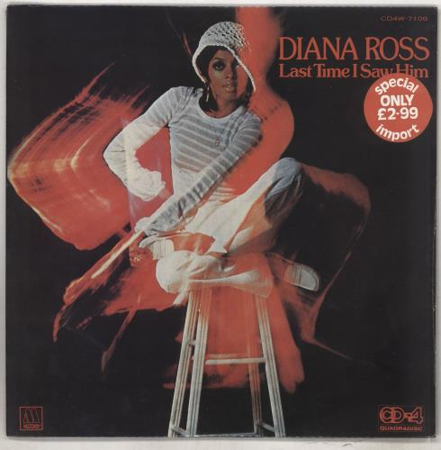 Diana Ross Last Time I Saw Him - Quad - Sealed vinyl LP album (LP record) Japanese DIALPLA735704